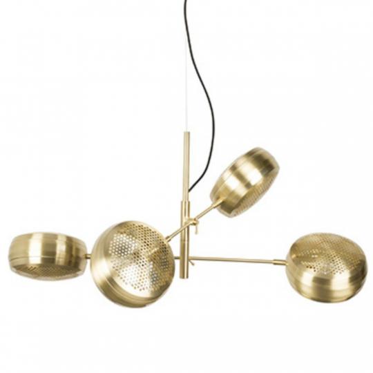 Herlig Taklampe 'Multi' - Messing       NM-88