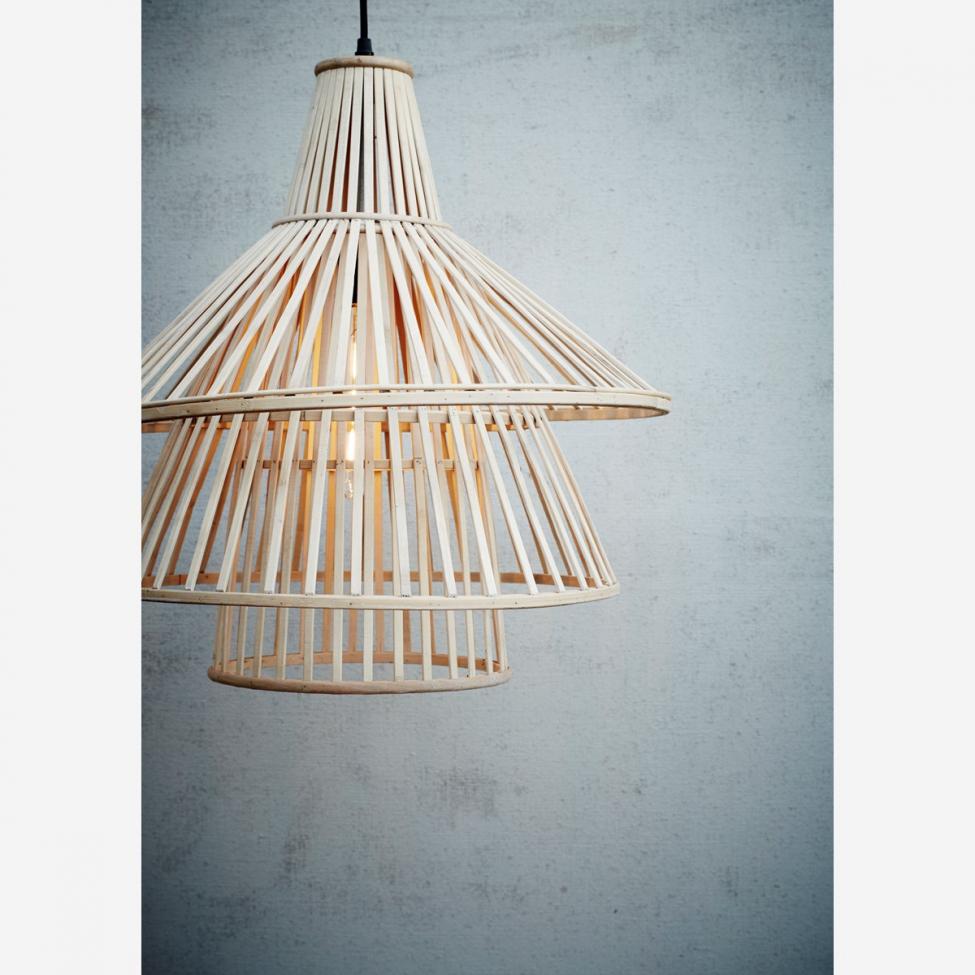 madam stoltz lampe bambus