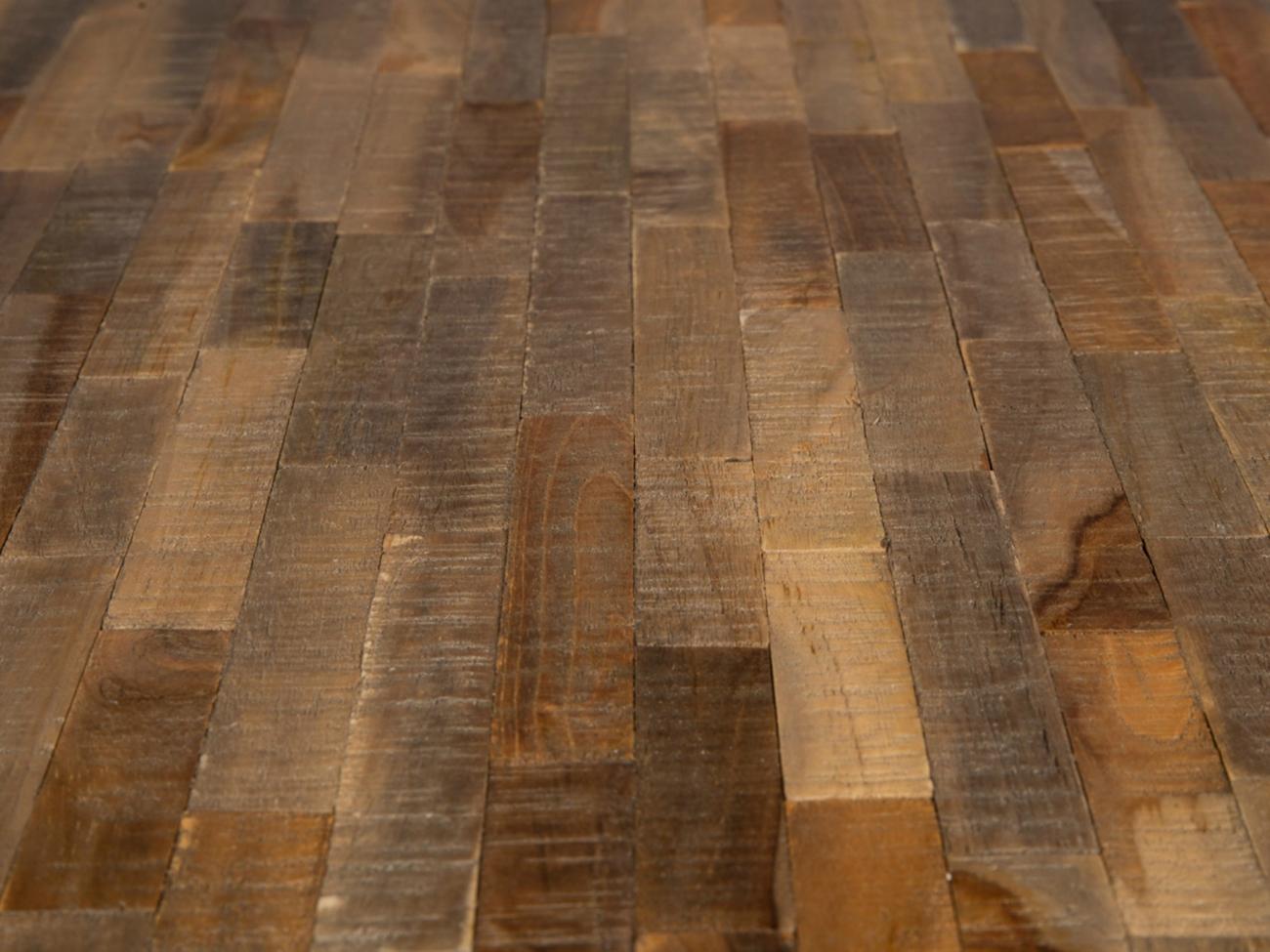 Spisebord 'Mo' Teak Stål | VAREMERKER | |