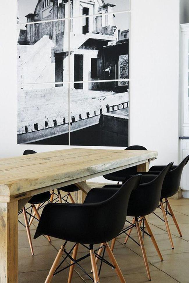 Stol Williamsburg Svart (Stålben)   Kjøkken ROM    