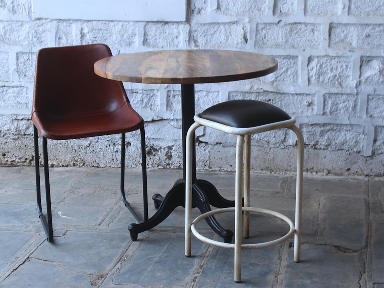 Vintage Round Spisebord 'Bistro' | | |