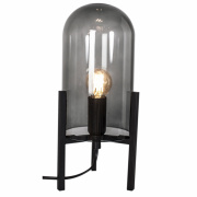 Bordlampe 'Smokey' - svart